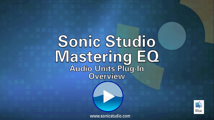 Sonic Studio Mastering EQ Overview Video